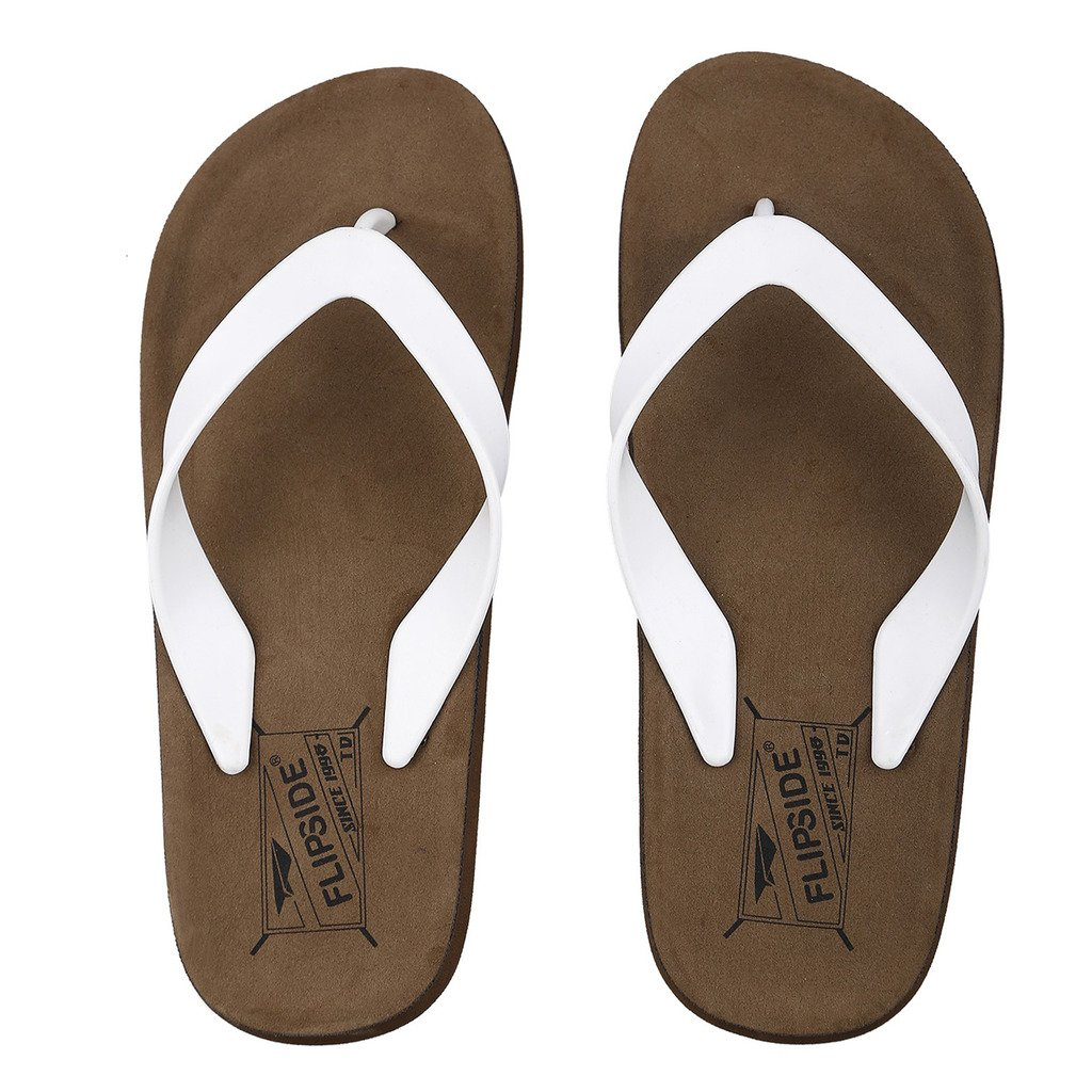 af8613551b69 Flipside Men s Brown Flipflops-10  Buy Online at Low Prices in India -  Amazon.in