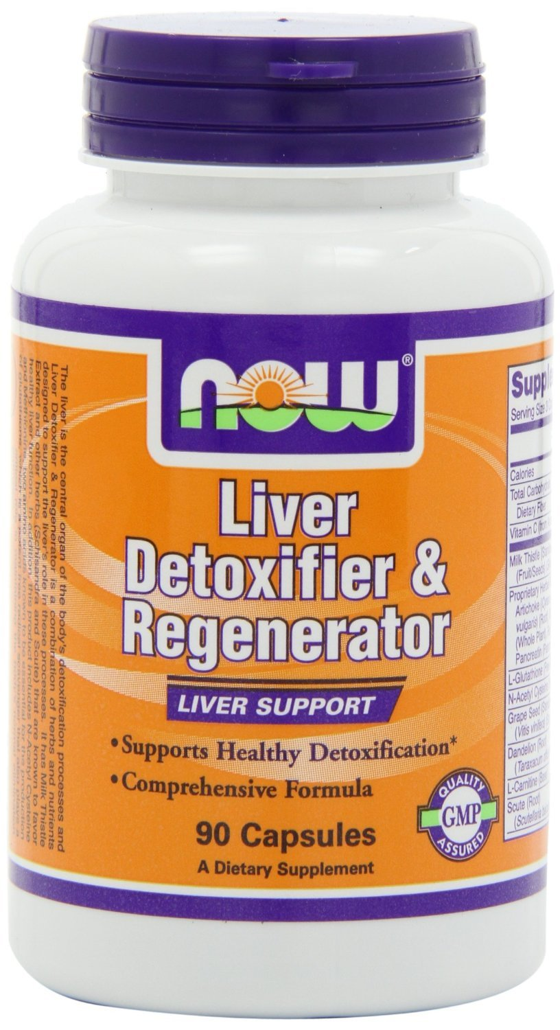 NOW Foods Liver Detoxifier and Regenerator, 360 Capsules Pack (4vtyt9) Now-ge