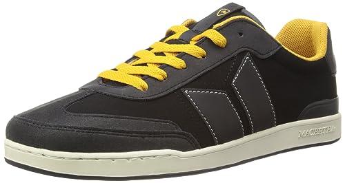 Zapatillas Macbeth: Madrid Black - Ochre Synthetic Nubuck BK, Color Negro, Talla 42.5: Amazon.es: Zapatos y complementos