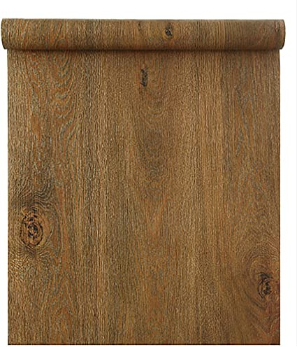 Blooming Wall Peel Stick Wood Panel Prepasted Wallpaper Wallcoverings For Wall 23 6in X 9 84ft Hhm03
