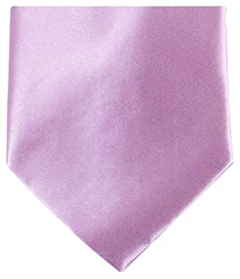 Knightsbridge - Corbata de poliéster para hombre, color lila claro ...