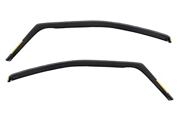 4 Pieces HEKO-15263 Front Rear Wind Deflectors Fits Ford Galaxy 2006 on 5-Door MPV