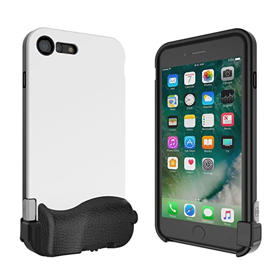 promo code edcba 814f3 bitplay SNAP! 7 - Camera Case for iPhone 7 Plus (Lenses Not Included) -  White