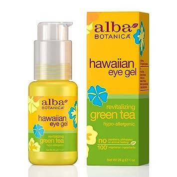 Amazon.com: Alba Botanica té verde Eye Gel, 1 onza botella ...