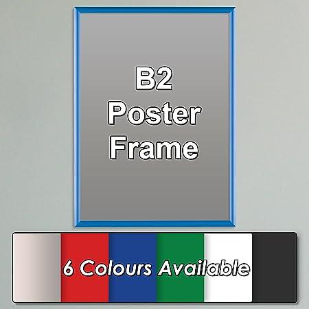 Wonderwall Large Snap Poster Frame - B2 (70 x 50cm), Blue - Easy ...