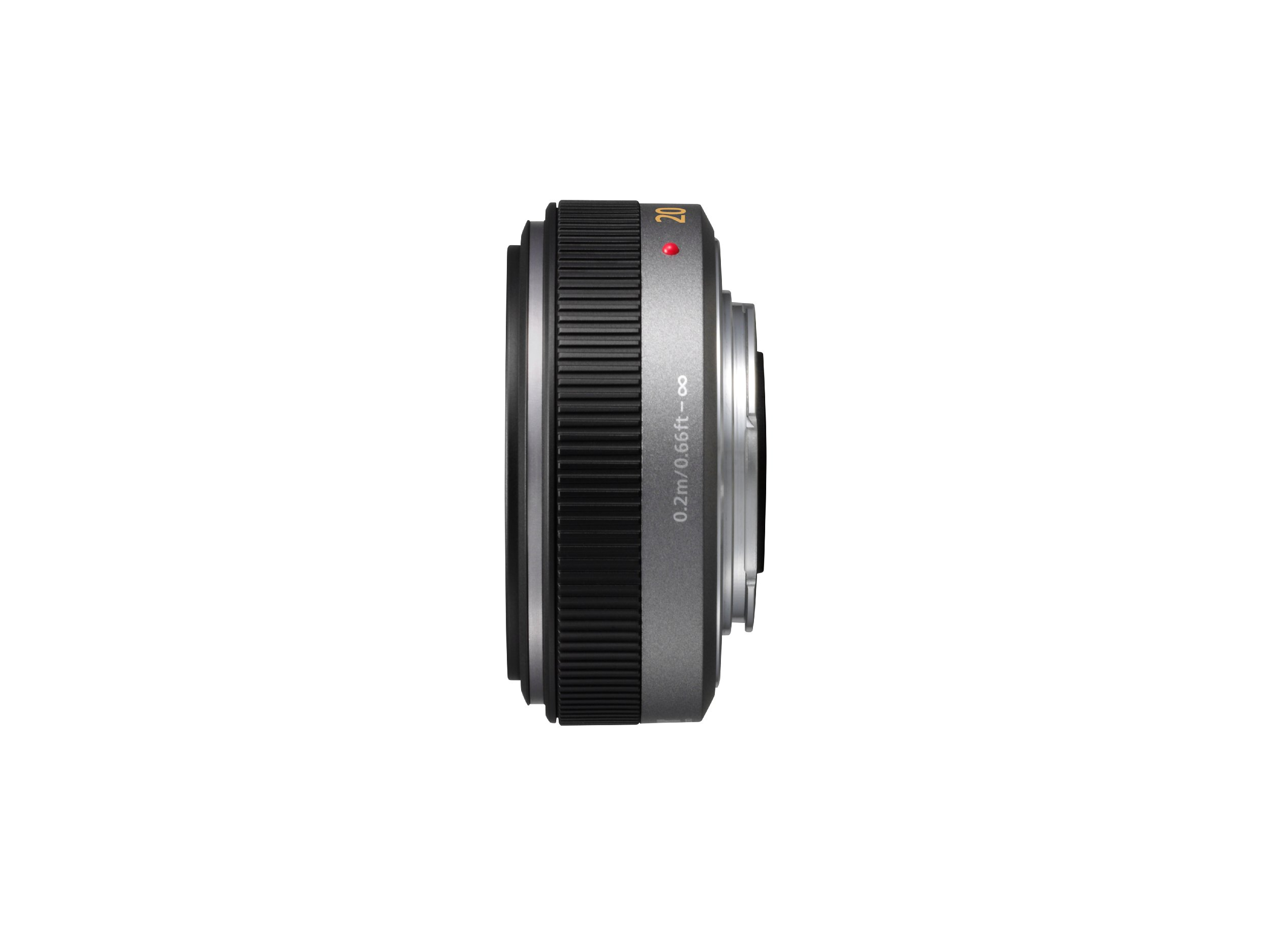 Panasonic Lumix G H-H020 20mm f/1.7 Aspherical Pancake Lens for Micro Four Thirds Interchangeable  Digital SLR Cameras by Panasonic
