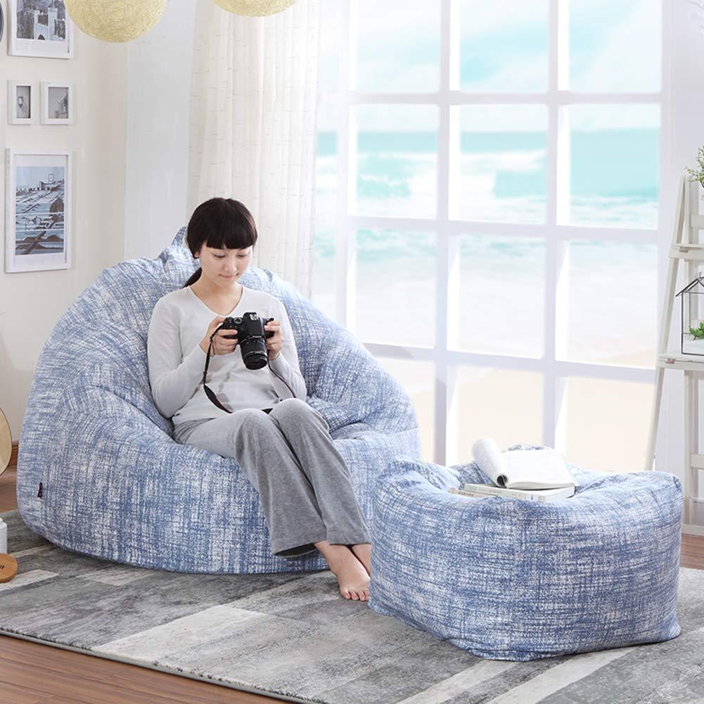 XUE Bean Tasche Stuhl, Lounger Couch kreative Einzelbalkon Schlafzimmer Flazy Tatami Freizeit Outdoor und Indoor Adult Gaming Garden Seat Chair Floor