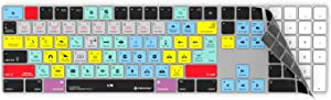 Adobe Premiere Pro Keyboard Cover for Apple Magic Keyboard | Fits Wireless Magic Keyboard with Numeric Pad