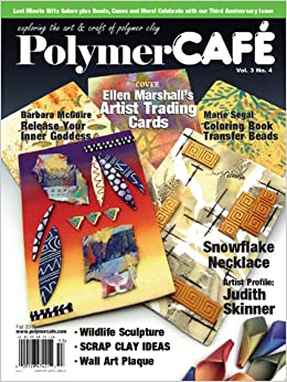 Polymer Cafe Magazines Beads & Jewelry Making Instruction Books & Media
