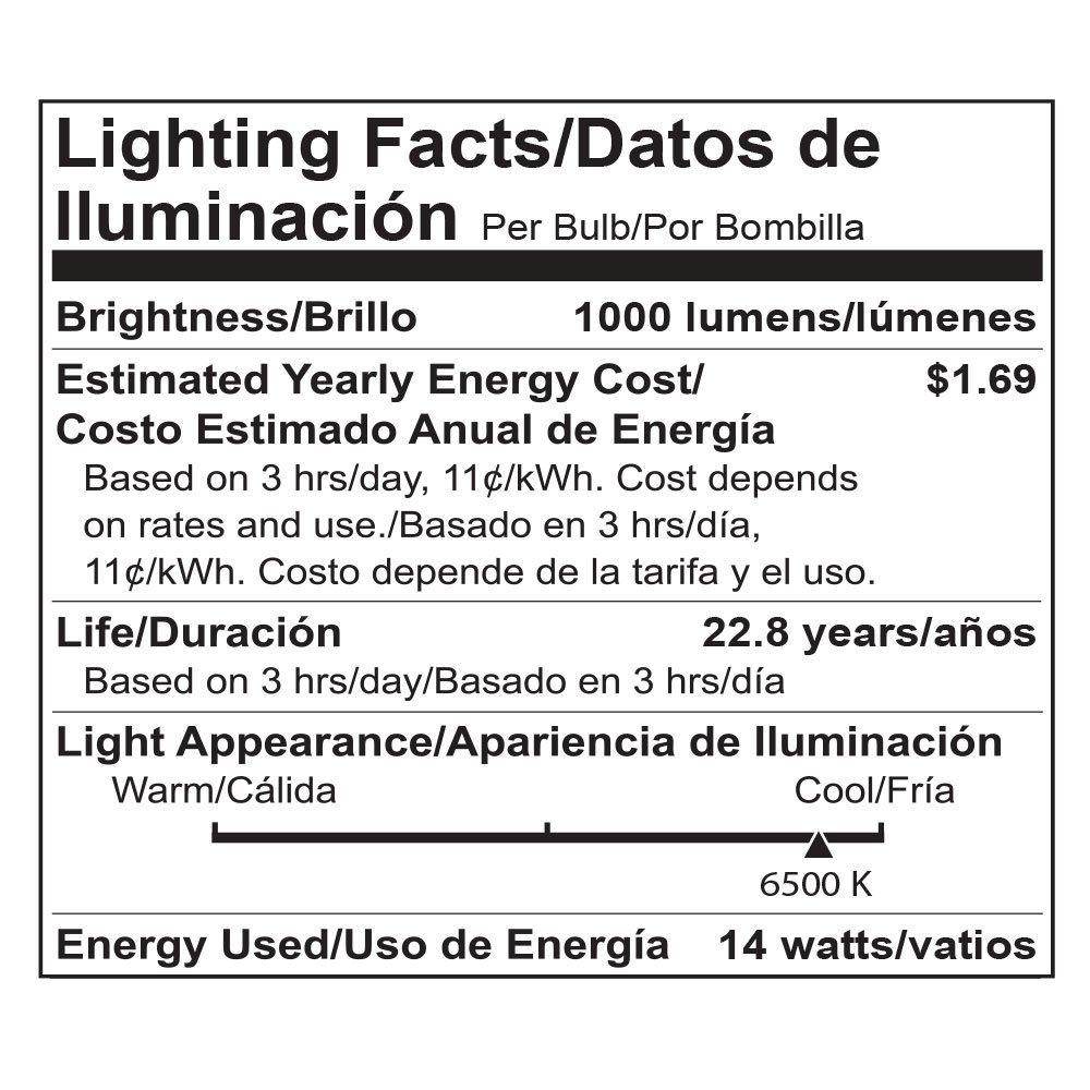 Viribright 2475 75 Watt Replacement 6