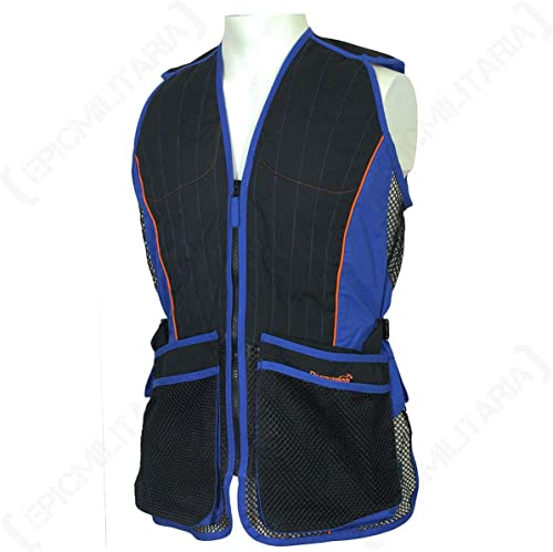 Percussion Skeet Shooting Vest (Blue, Large)