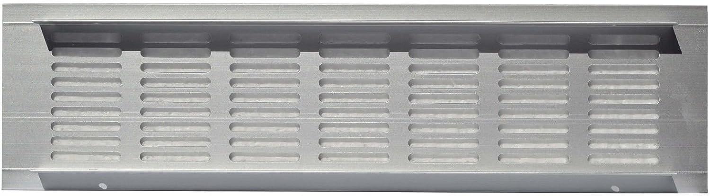 disponibles en diferentes tama/ños 40 cm 2x Rejillas de ventilaci/ón de aluminio de alta calidad para una ventilaci/ón ideal