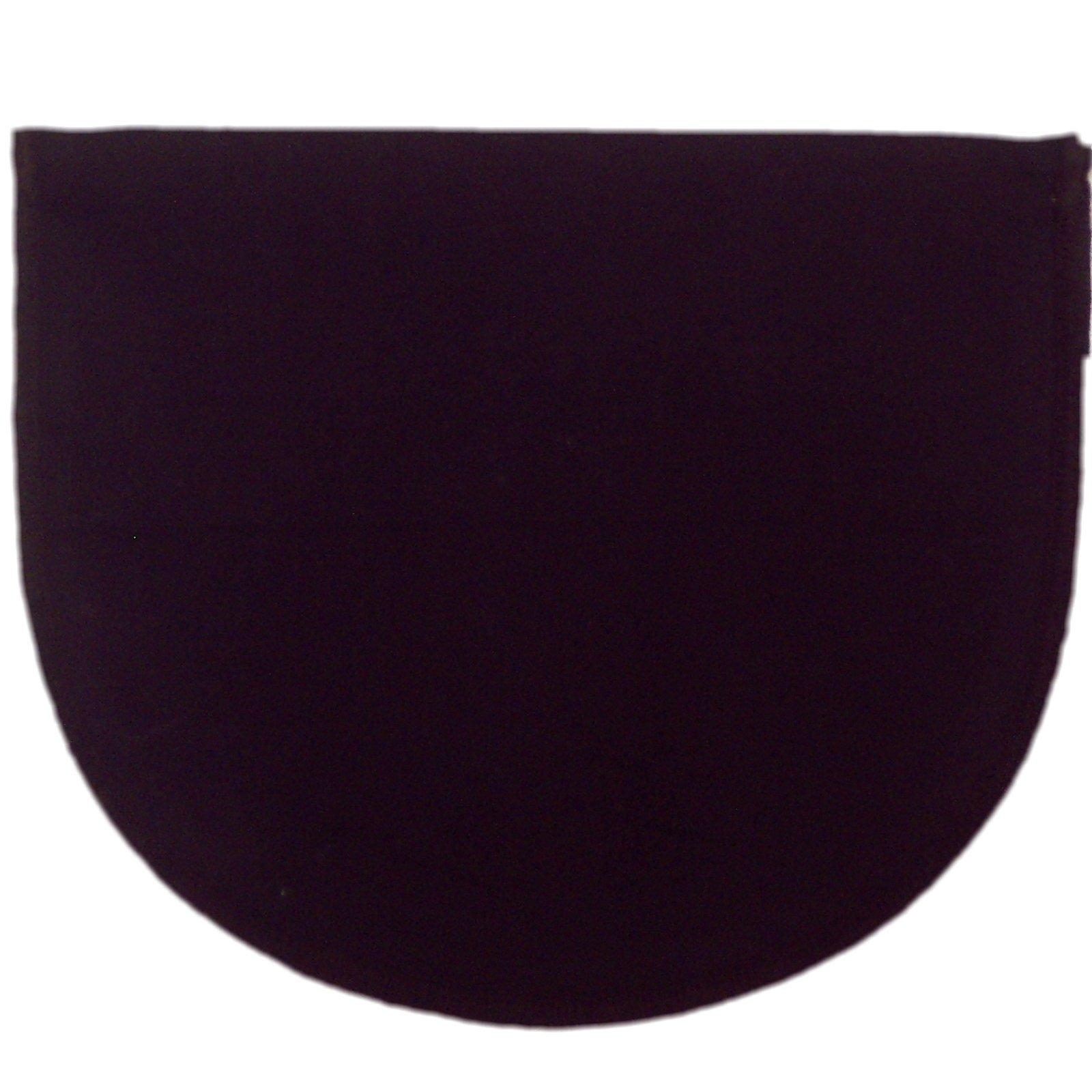 Chemisettes by Anne Modesty Panel Mock Camisole Bra Insert Cotton Black Sz D/XL