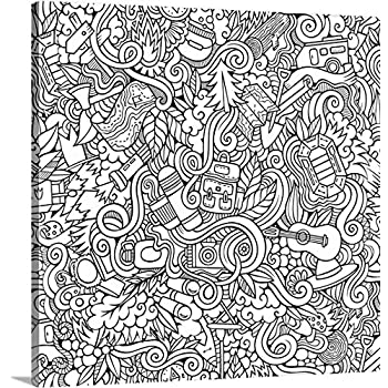 Amazon.com: Mandala Madness - Giant Wall Size Coloring Poster - 32.5 ...