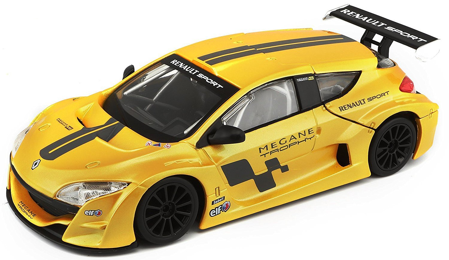 Model Building Kits Lovely Bburago 1:24 Renault Megane Trophy Yellow Assembly Diy Racing Diecast Model Kit Kits Car Toy New In Box Free Shipping 25097