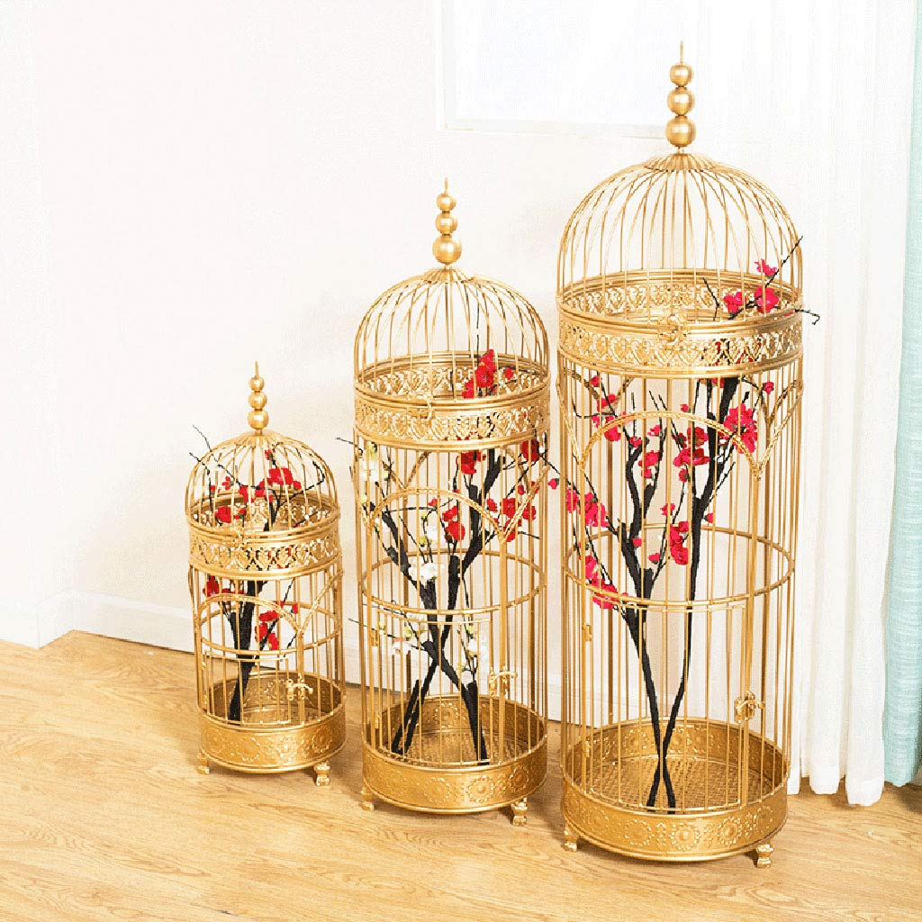 jaula Soporte de Flores Decorativo Europeo pájaros, pájaros ...