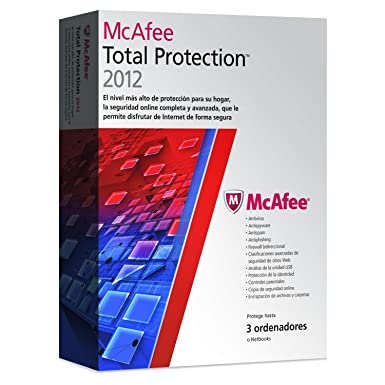 Mcafee Total Protection 2012 - 3 usuarios