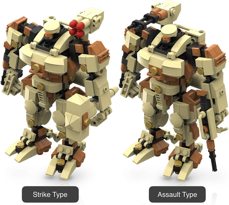 Mecha Frame Robot Mech Building Bricks Cool Beans Boutique Set of 2 Kits 6012 Titan + 5010 Ranger