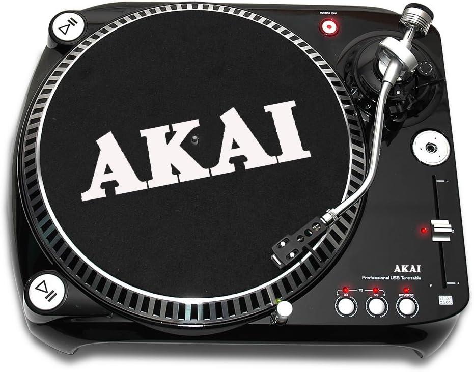 Akai Turntable + USB Negro - Tocadiscos (Negro): Amazon.es ...