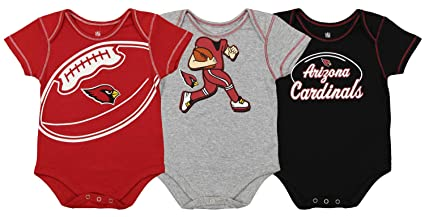 Sports Mem, Cards & Fan Shop Outerstuff Nfl Infant Girls Los Angeles Rams Assorted 3 Pack Creeper Set