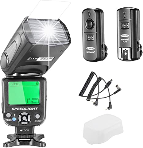 Neewer NW de 562 N I Kit de luz de flash TTL Flash Speedlite para ...