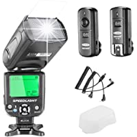 Neewer NW-562N i-TTL Flash Speedlite Kit for Nikon DSLR Camera,Kit Include:(1) NW562N Flash+(1) FC-16 2.4Ghz Wireless Trigger(1 * Transmitter+1 * Receiver)+(1) Microfiber Cleaning Cloth