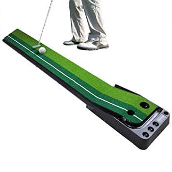 Amazon.com : COVASA Golf Putting Green Mat Indoor Outdoor Auto ...