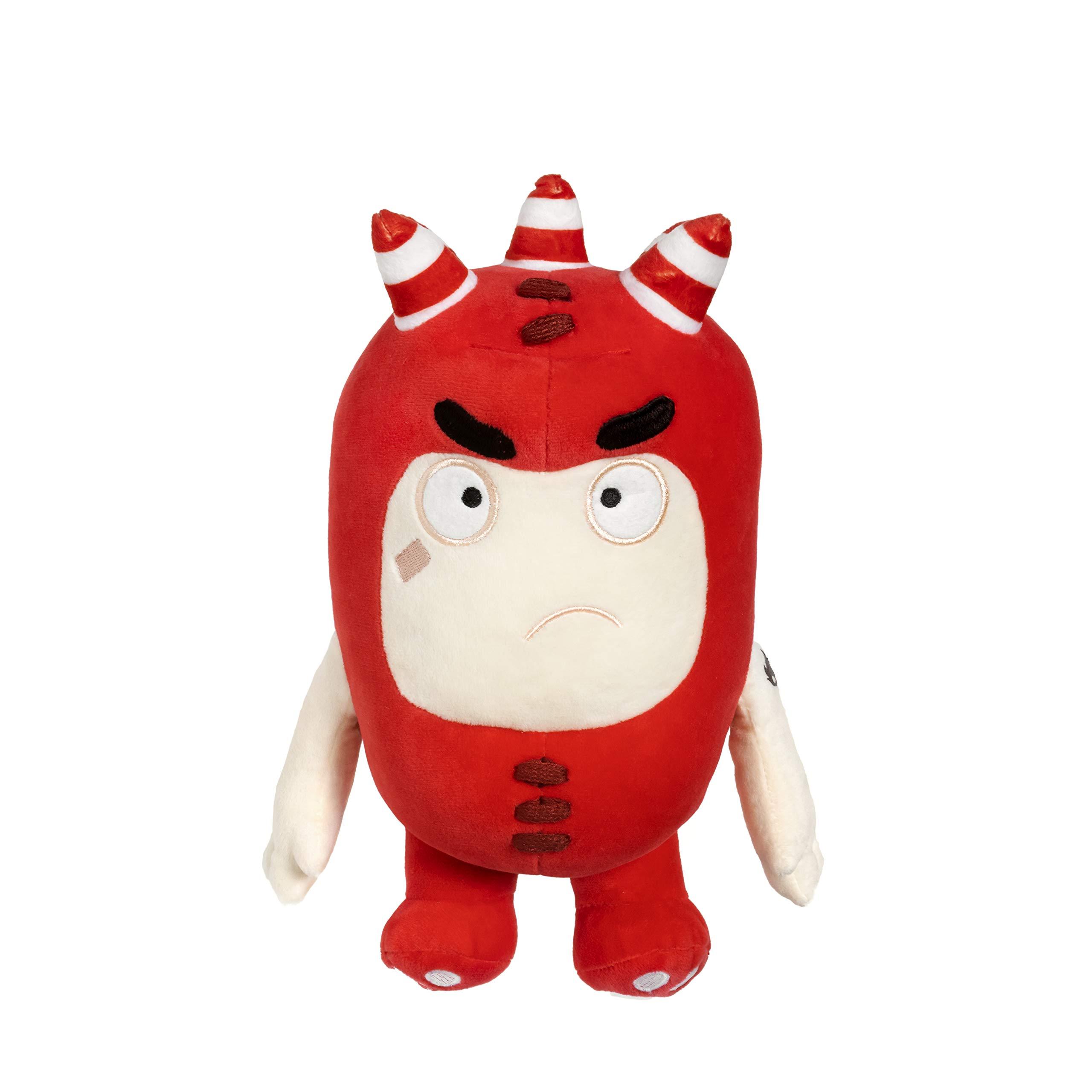 ODDBODS Fuse Plush | 12'' Red Soft Toy Idea for Kids by ODDBODS