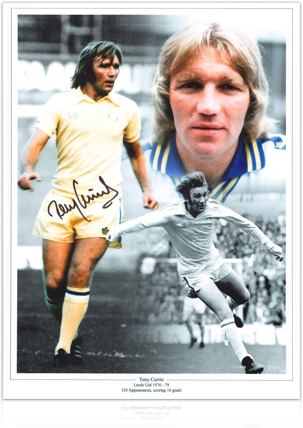 Exclusive Memorabilia Tony Currie Signed Leeds United Photo