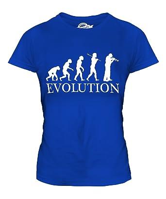 CandyMix Kornett Instrument Evolution Des Menschen Damen T Shirt:  Amazon.de: Bekleidung