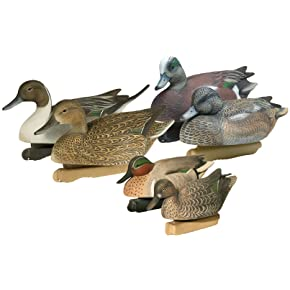 Final Approach Central-Pacific Flyway Puddle Pack Decoy Combo