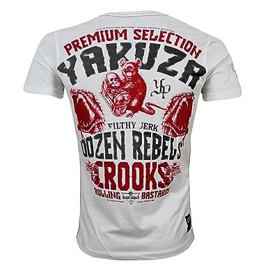 56656ca6b30 Herrenmode T-Shirts YAKUZA PREMIUM T-Shirt YPS-2409 Grau T-Shirts