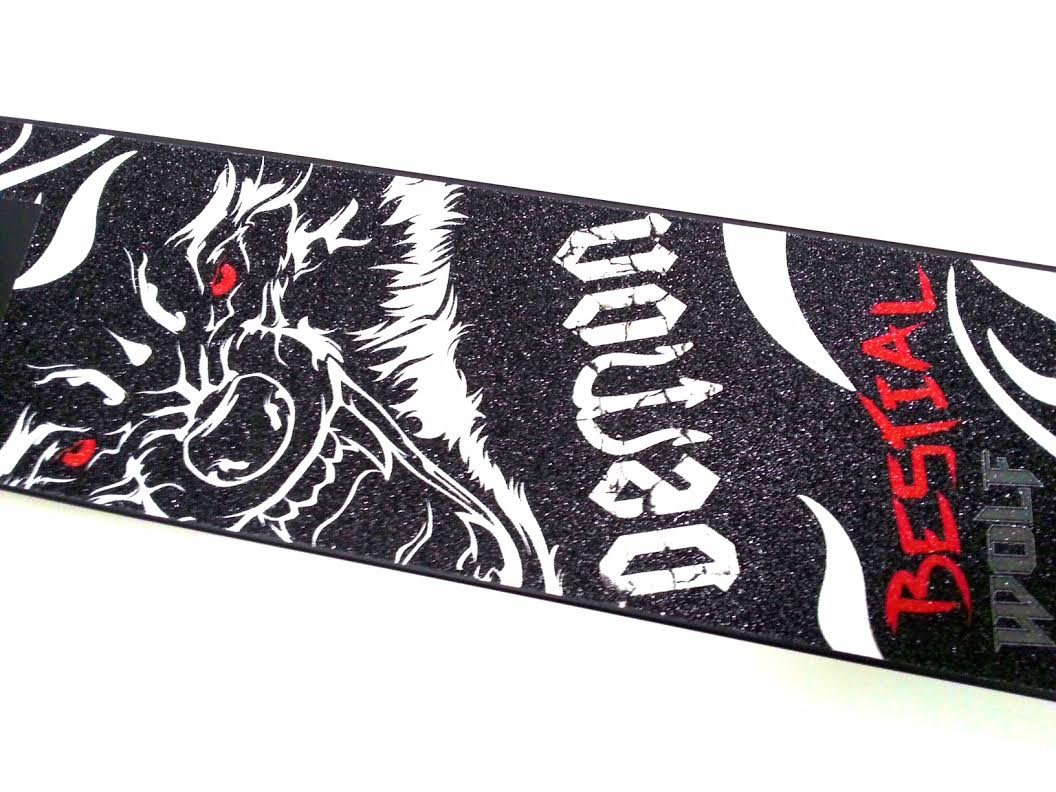 Patinete Scooter Bestial Wolf Demon