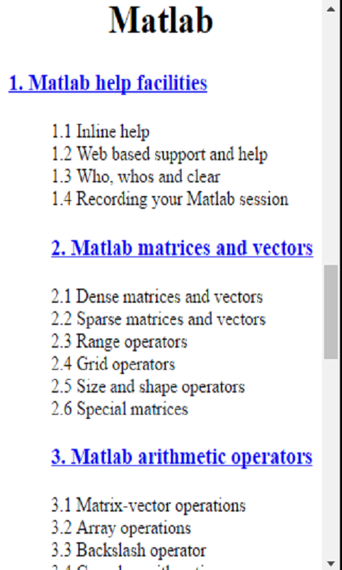Amazon com: MatLAB Tutorial: Appstore for Android