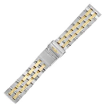 belle scarpe dettagliare migliori marche Breitling Chronomat 41 20 mm oro & bracciale in acciaio 378 ...
