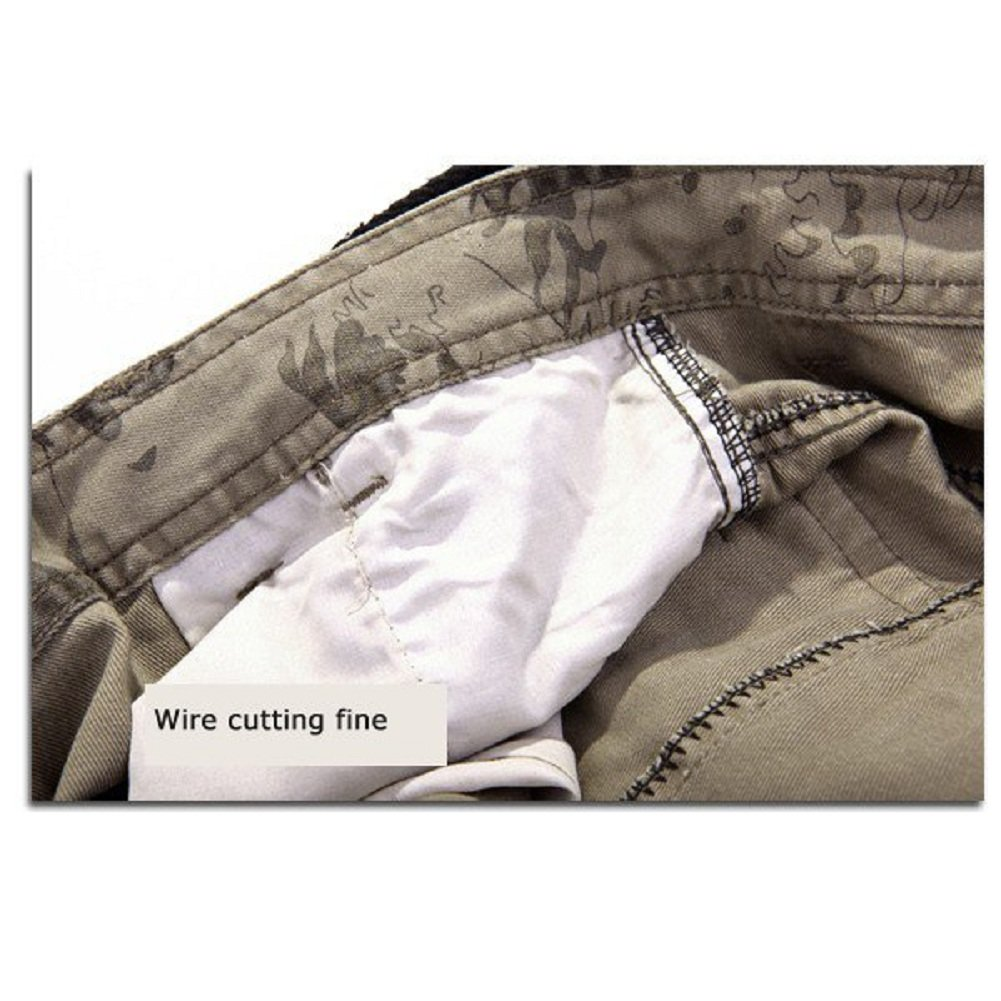 2013 New Style Men's Outdoor Casual Cargo Combat Camouflage Pants Trousers for Man