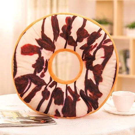 sixcup® Doughnut Donut anillo de forma de vuelta de peluche ...