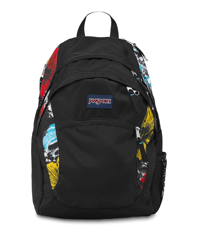 Amazon.com : JanSport Wasabi Backpack (Black) : Basic Multipurpose ...
