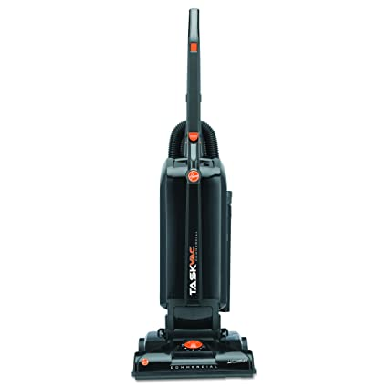 Superb Hoover Commercial CH53005 TaskVac Hard Bagged Lightweight Upright Vacuum,  13 Inch