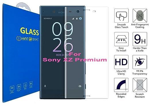 14 opinioni per Sony Xperia XZ Premium- Curvo 3D Pellicola Protettiva Vetro Temperato, 3D da