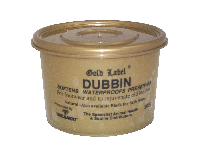 Gold Label Impermeabilizzante e ammorbidente per oggetti in pelle, colore naturale, 200g