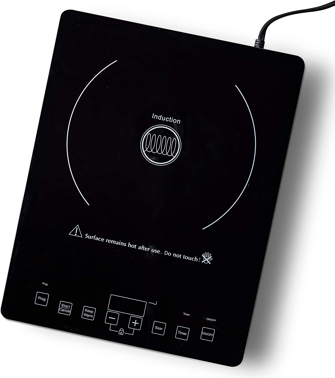GreenPan CC002900-001 Cooker Countertop Induction Burner, One Size, Black