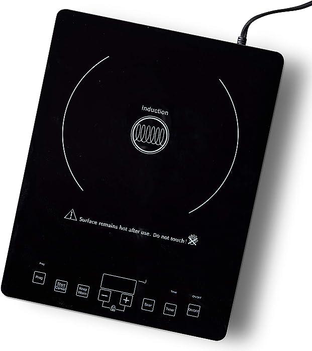 GreenPan CC002900-001 Cooker Countertop Induction Burner, One Size, Black
