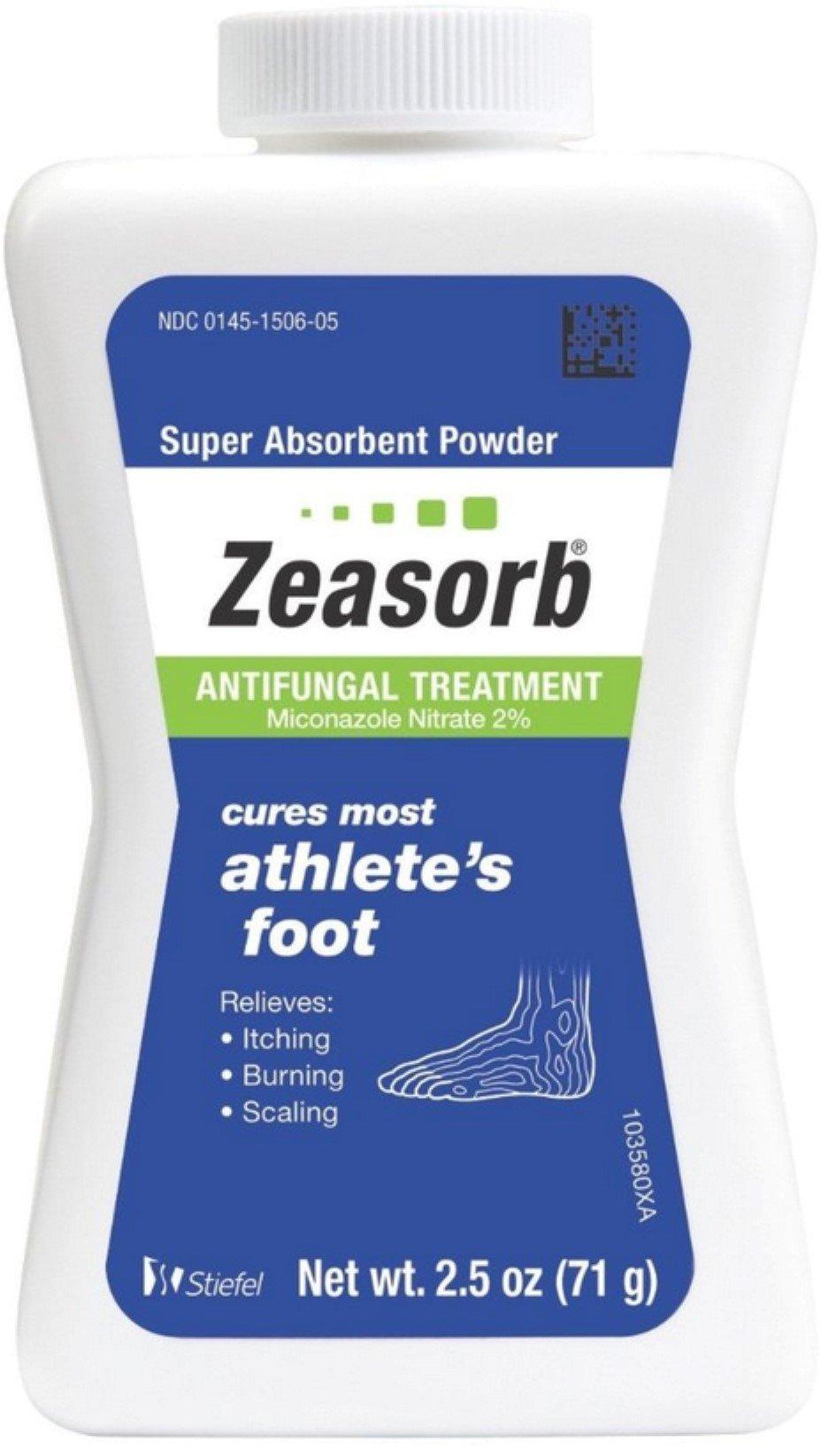 Zeasorb-AF Antifungal Powder 2.50 oz (Pack of 12) by Zeasorb