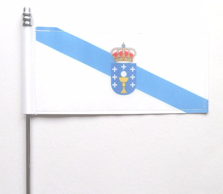 España Galicia bandera de mesa de Ultimate: Amazon.es: Jardín