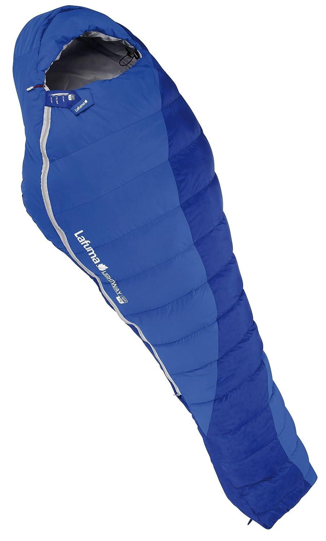 Lafuma Schlafsack Lightway 45 - Saco de dormir momia para acampada, color azul, talla 213 x 80 x 3 cm: Amazon.es: Deportes y aire libre