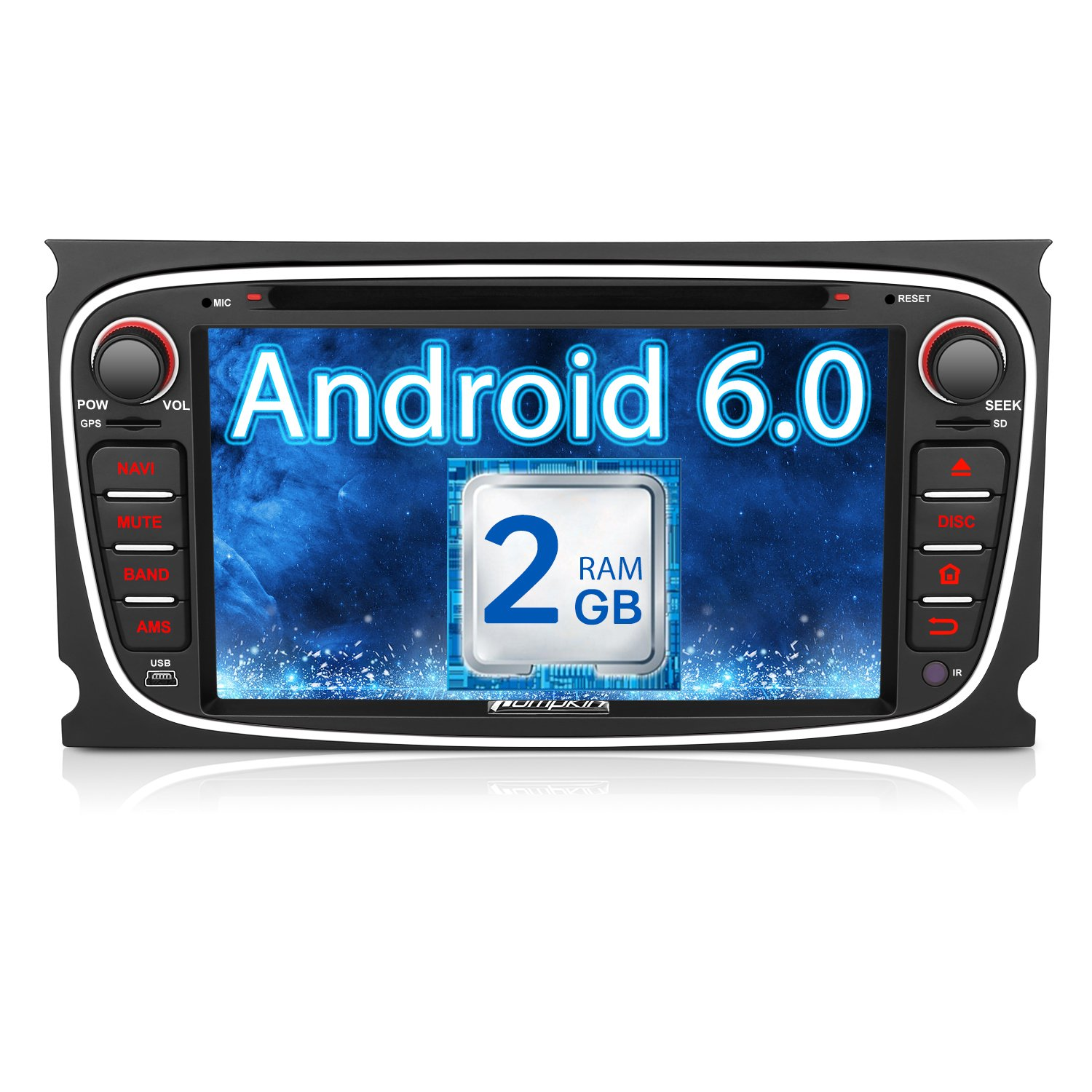 Pumpkin 2GB RAM Android Car DVD Player for Ford Focus: Amazon.co.uk ...