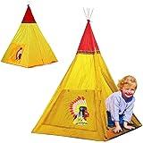 167755 Tenda da gioco degli indiani 100x100x135 cm con sistema pop up. MEDIA WAVE store