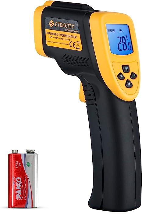 Digital Infrared Thermometer Non Contact Temperature Gauges gun Meter hygrometer