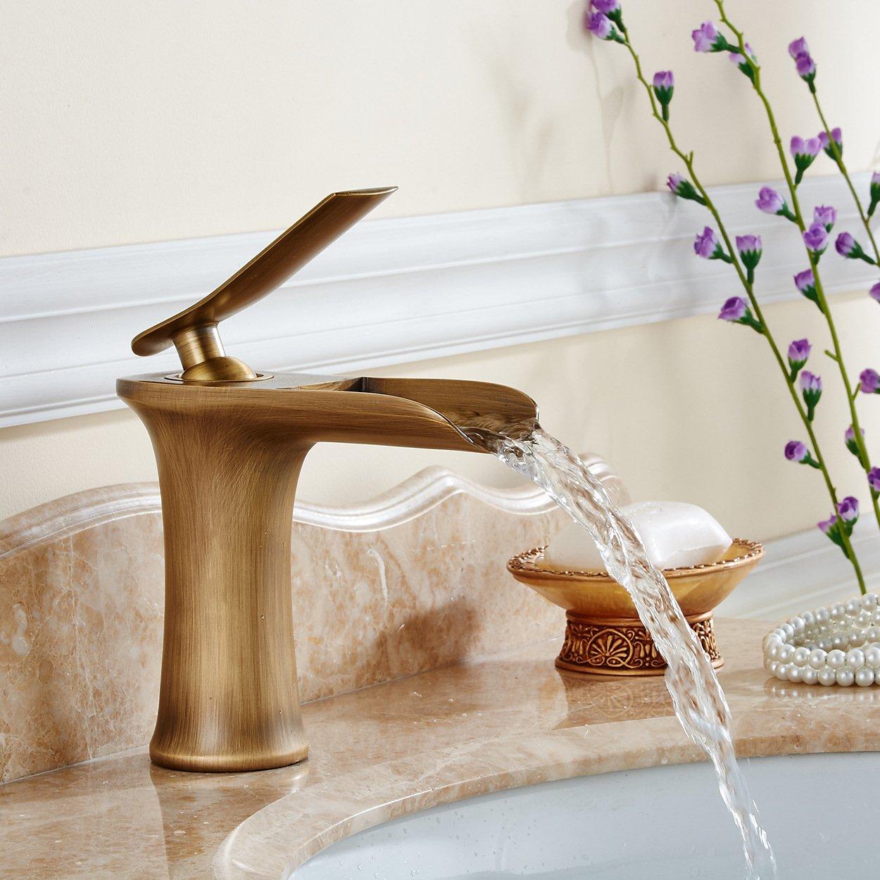 LINZAONG Über Zähler Becken gemischt Wasserhahn warmes und kaltes kaltes kaltes zeitgenössische Wasserhahn Kupfer Waschbecken Wasserhahn,D B071RSZN8H | Sale Outlet  34fdf0